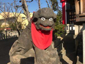 元郷氷川神社 狛犬