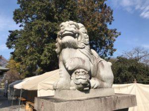 東沼神社 狛犬