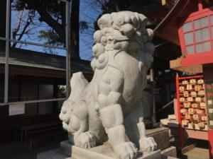 前川神社 狛犬