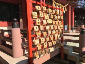前川神社 絵馬