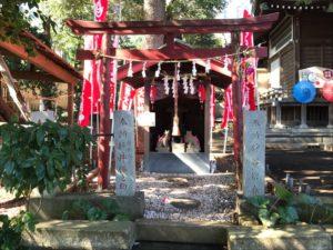 馬場氷川神社 稲荷神社