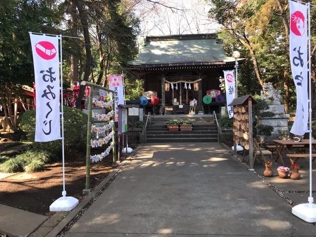 馬場氷川神社